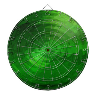 Diseño gráfico de la onda verde tablero dardos