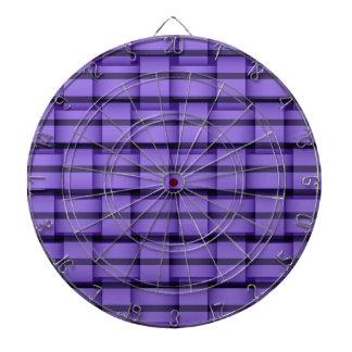 Diseño gráfico del arte de mimbre púrpura de las r tablero de dardos