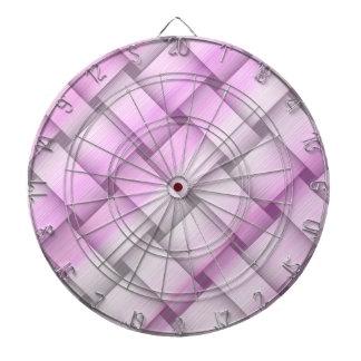 Diseño gráfico del arte de mimbre rosado del vinta tabla dardos