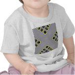 Diseño gráfico del modelo extraño abstracto de la  camisetas