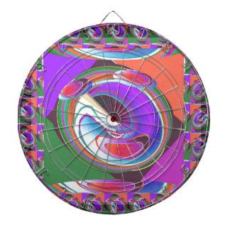 Diseño gráfico del UFO Tablero De Dardos