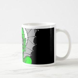 diseño gráfico del vampiro taza
