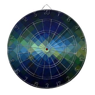 Diseño gráfico inconsútil del diamante tabla dardos