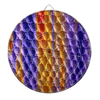 Diseño gráfico retro del arte tablero dardos