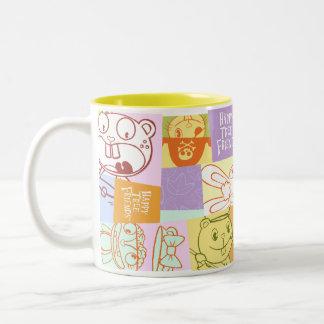 diseño gráfico taza de café