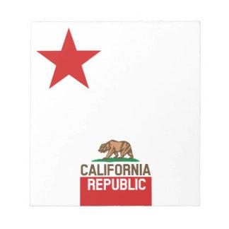 Diseño grande de la estrella de la bandera del libretas para notas