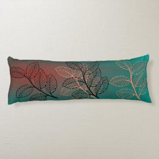 ¡Diseño grande de las hojas de otoño de la Almohada De Cuerpo Entero