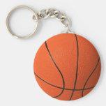 Diseño grande del baloncesto llavero