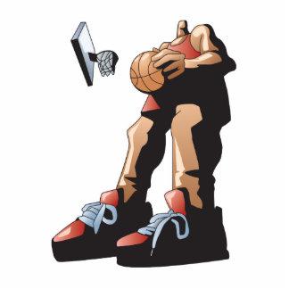 diseño grande del jugador de básquet esculturas fotográficas