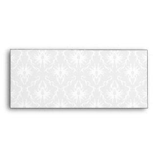Diseño gris blanco y en colores pastel del damasco