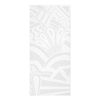 Diseño gris claro del estilo del art déco lonas publicitarias