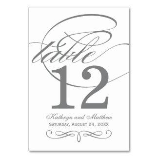 Diseño gris de la caligrafía de la tarjeta el  