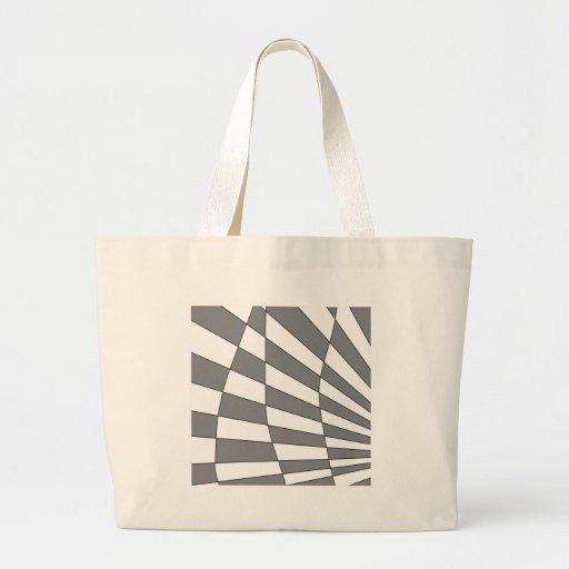 Diseño gris del ángulo bolsa