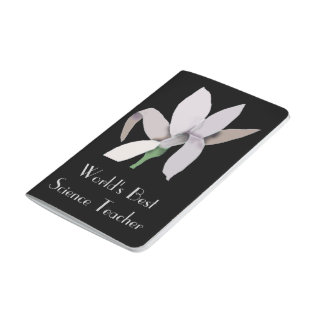 Diseño gris del extracto de la flor - texto cuadernos