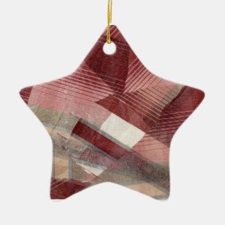 Diseño gris rosado rojo del modelo de las rayas de adornos de navidad