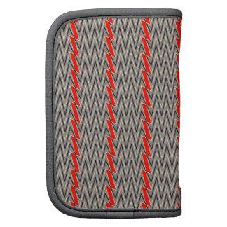Diseño gris y rojo del galón organizador