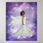 Diseño hermoso 3 del ángel - impresión impresiones