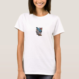 Diseño hermoso 5 de la camiseta de las mariposas