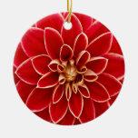 Diseño hermoso de los pétalos de la flor de la adornos de navidad