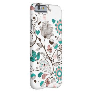 Diseño hermoso de Paisley Funda Barely There iPhone 6