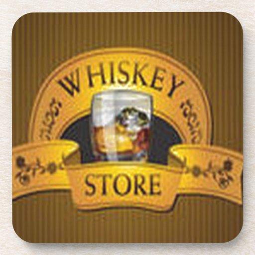Diseño hermoso de WhiskyStore Posavasos