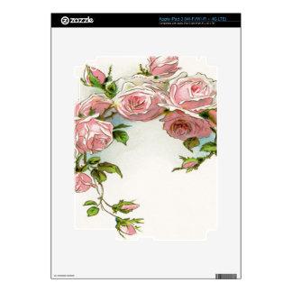 Diseño hermoso del rosa iPad 3 skin