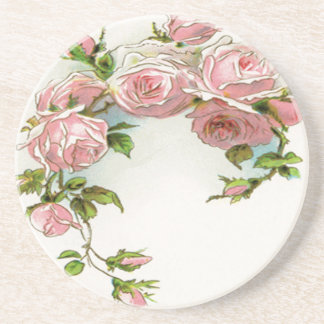 Diseño hermoso del rosa posavasos cerveza
