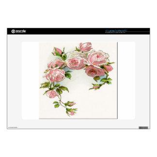 Diseño hermoso del rosa skins para portátil