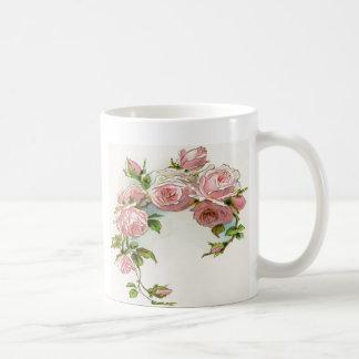 Diseño hermoso del rosa taza clásica