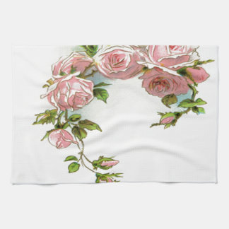 Diseño hermoso del rosa toallas