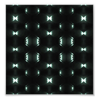 Diseño hexagonal oscuro futurista del modelo de fotografía