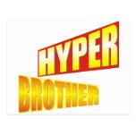 Diseño híper creativo de Brother Tarjeta Postal