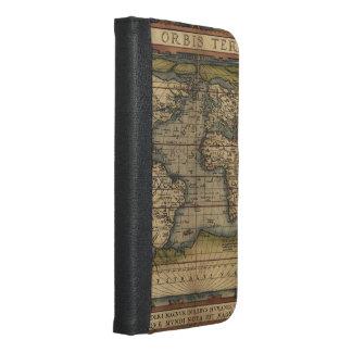 Diseño histórico del atlas del mapa del mundo del