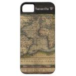 Diseño histórico del atlas del mapa del mundo del iPhone 5 Case-Mate funda