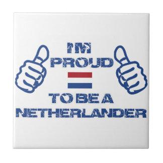 Diseño holandés azulejo cuadrado pequeño