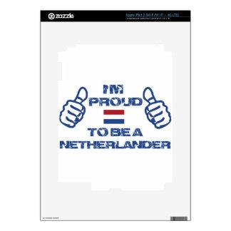 Diseño holandés pegatinas skins para iPad 3