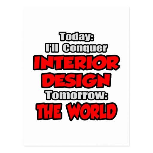 Diseño hoy interior… mañana postales
