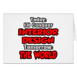 Diseño hoy interior… mañana tarjeton