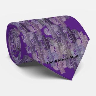 Diseño humano artsy #26 del riñón del lazo del corbatas personalizadas