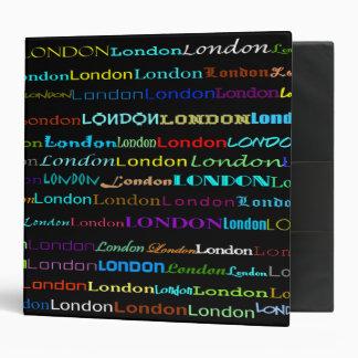 """Diseño I 2"""" del texto de Londres carpeta"""