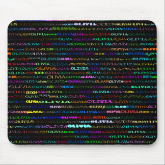 Diseño I Mousepad del texto de Olivia