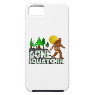 Diseño ido original de Squatchin iPhone 5 Carcasa
