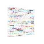 Diseño II del texto de Los Ángeles Lona Envuelta Para Galerías