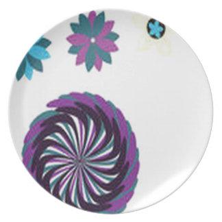 Diseño impresionante del aire del hawaiin plato de comida