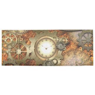 Diseño impresionante del steampunk billeteras tyvek®