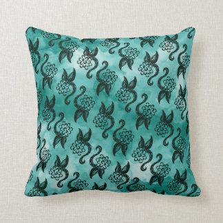 Diseño incompleto de la almohada de la flor del