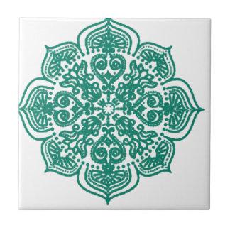 Diseño indio hindú teja