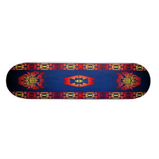 Diseño indio tabla de skate