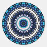 Diseño influenciado marroquí de la teja del vintag pegatina