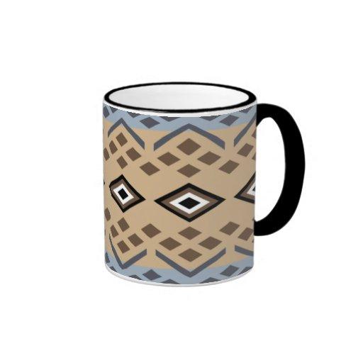 Diseño inspirado indio del Hopi Tazas